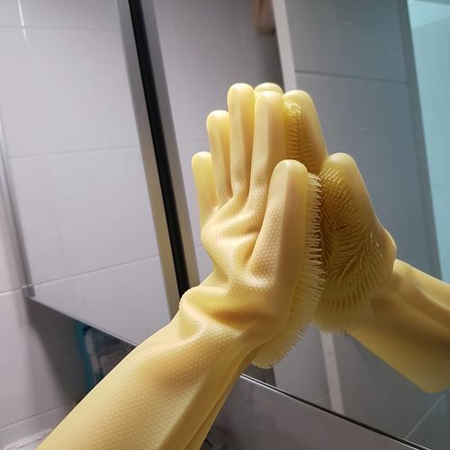 dishwashing gloves